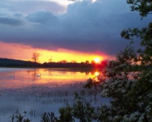 پورٹ میڈوز پر سورج نکلنے کا منظر